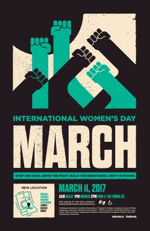 Flyer for IWD 2017